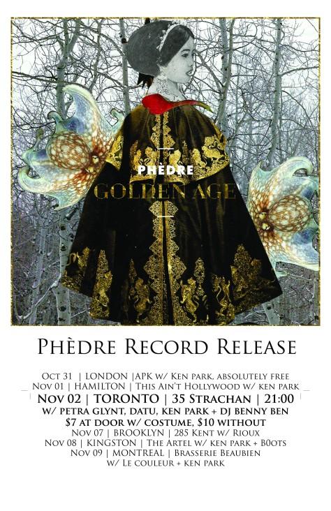 Phèdre Toronto Show
